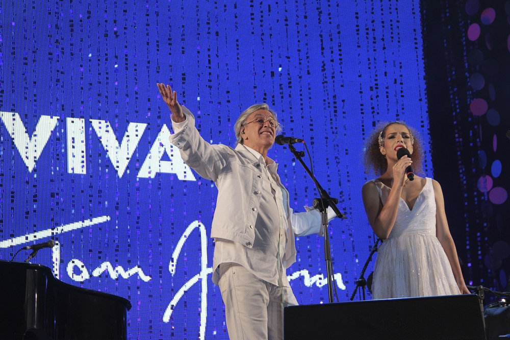 Nivea Viva Tom Jobim Concert with Vanessa da Matta and Caetano Veloso