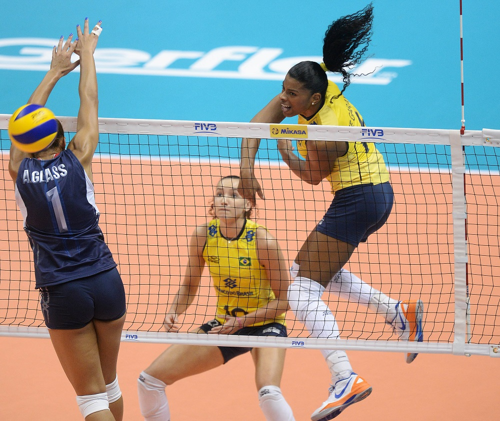 Brazil v USA - FIVB World Grand Prix Sapporo 2013 Day 1
