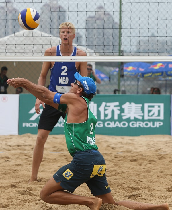 Emanuel-Van Dorsten - Day 3 - FIVB Beach Volleyball Fuzhou Open